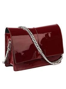 сумка женская нк мод.30017 (9с1616к45|БОРДО/ЧЕРНЫЙ|1)