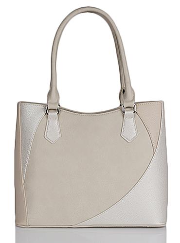 сумка женская ик мод.217 (9с1092к45|БЕЖ.СВ/ПЛАТИН|1)