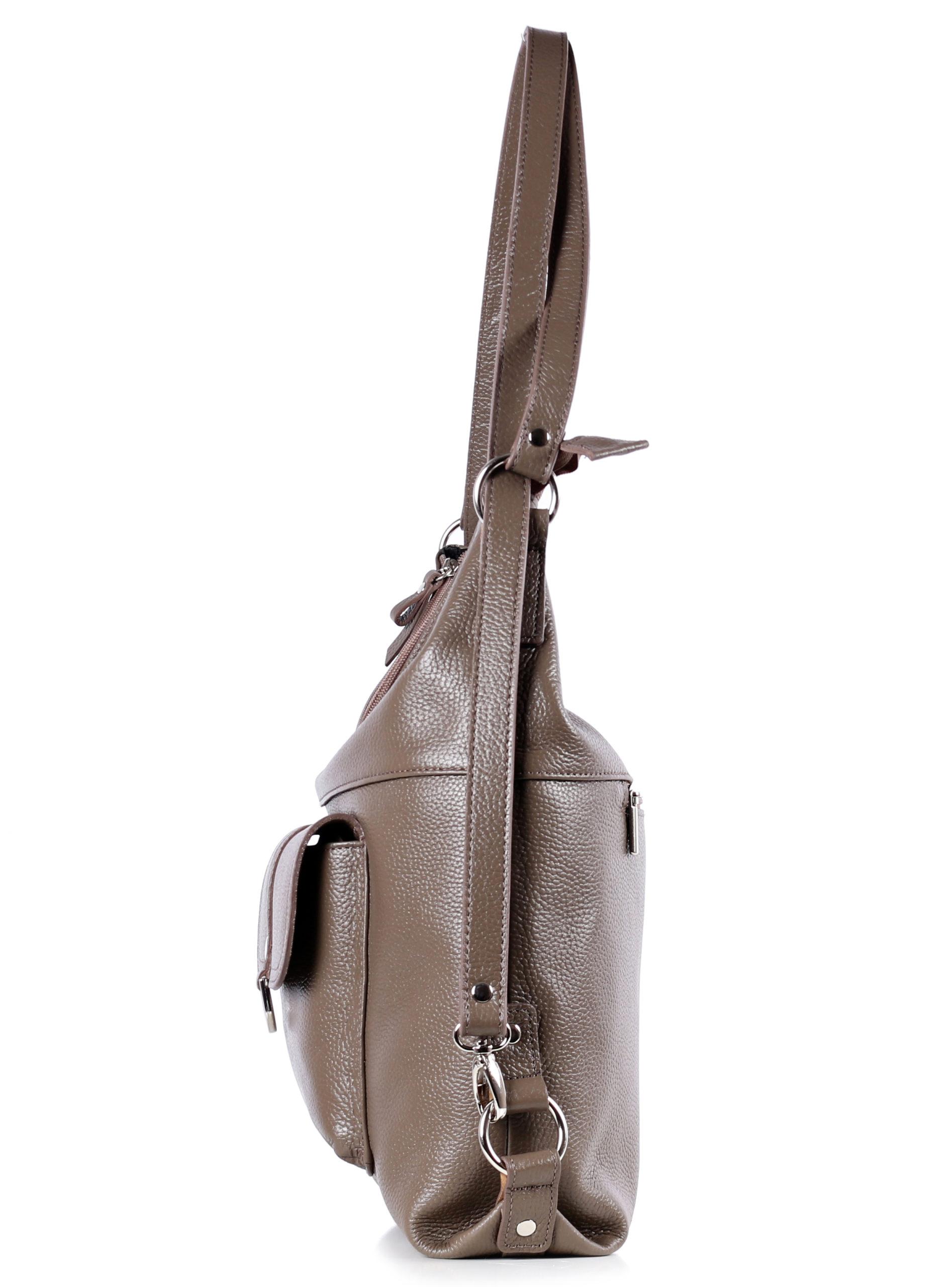 сумка женская нк мод.28016 (9с2291к45|СЕРКОР/БЕЖЕВ|1)