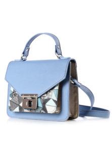 сумка женская ик мод.14017 (9с1157к45|ГОЛУБ/ЦВЕТН|1)